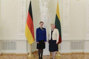Darbą Lietuvoje pradeda nauja Vokietijos ambasadorė