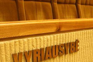 Vyriausybė aptars Seimo pavasario sesijos darbus