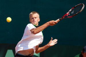 Lietuvos vyrų teniso rinktinė Daviso taurės mače pralaimėjo