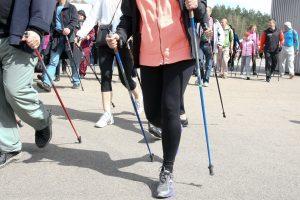 Šiaurietiškasis ėjimas – pigus ir efektyvus sportas (atidaromi nauji takai)