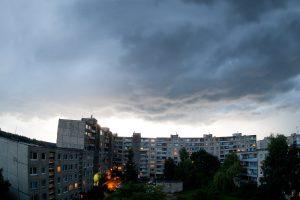 Įspėjimas: Lietuvą vėl siaubs škvalas