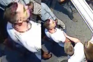 Policija prašo atpažinti asmenį, įtariamą sveikatos sutrikdymu