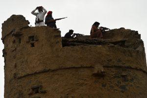 Tarptautinė bendrija didina spaudimą Jemeno husių sukilėliams