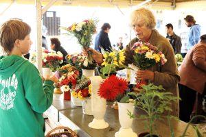 Klaipėdiečiai prieš naujų mokslo metų šventę skubėjo apsirūpinti gėlėmis