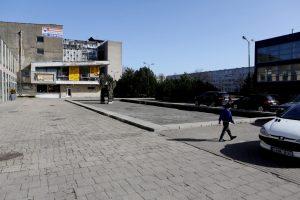 Aikštę Klaipėdoje nori paversti traukos centru