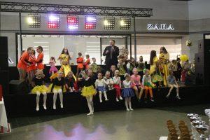 Uostamiestyje rungėsi jaunieji šokio talentai