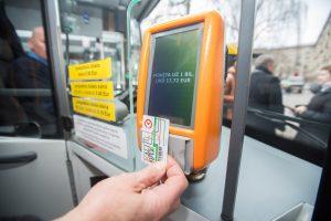 Autobusams, troleibusams ir maršrutiniams taksi – vienas bilietas