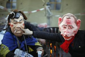 Rusijos ir Ukrainos prezidentai Sočyje aptars krizę Kijeve
