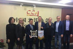 G. Surplys tikisi paskatinti lietuviškos produkcijos eksportą į Kiniją