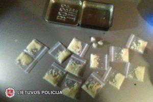 Pakišo koją narkotikai: linksmybės klube baigėsi areštinėje