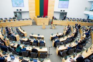 Seimas keičia interesų deklaravimo tvarką