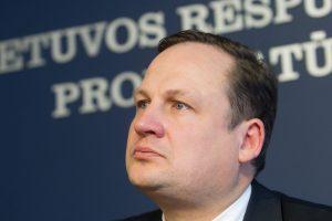 E. Pašilis: paskyriau tinkamiausią kandidatą į Panevėžio apylinkės prokurorus