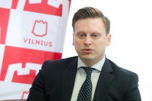 Konservatorių sąrašą į Vilniaus miesto tarybą ves V. Benkunskas