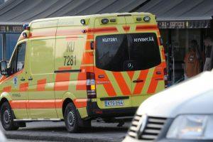 Suomijoje per gaisrą depe supleškėjo 20 miesto autobusų