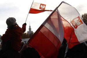 Lietuvos vadovai pasveikino Lenkiją Nepriklausomybės dienos proga
