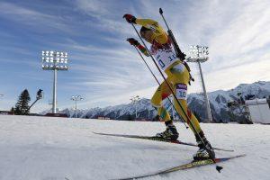 Pasaulio biatlono čempionate T. Kaukėnas – už 30-tuko
