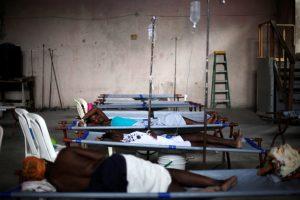 Centrinės Afrikos Respublikoje – choleros protrūkis