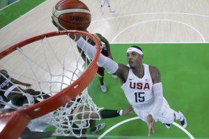 NBA žvaigždės Venesuelos rinktinę sutriuškino 44 taškų skirtumu