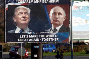 D. Trumpo sąjunga su V. Putinu: kuo tai baigsis?