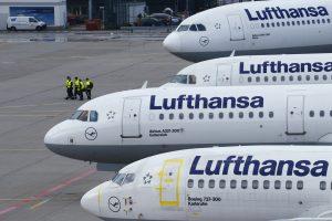 """""""Lufthansa"""" streikas sujaukė ir Lietuvos europarlamentarų planus"""