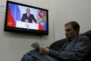 A. Vaišnys: Rusijos propaganda – jos politikos dalis, o šaltinis – prezidentas