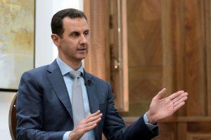 """B. Al Assadas žada atsiimti Raką ir """"visą"""" Siriją"""