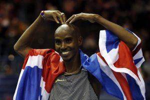 Britų bėgikas Mo Farahas pagerino Europos rekordą