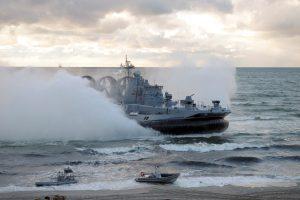 """Pasibaigus """"Zapad 2017"""", Rusijos laivyno pajėgos grįžta į savo dislokacijos vietas"""