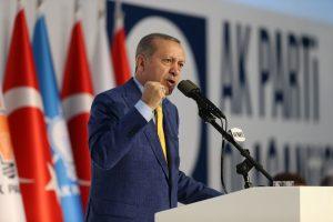 R. Erdoganas grįžta vadovauti valdančiajai partijai