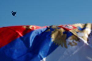 Virš Baltijos jūros zuja Rusijos naikintuvai