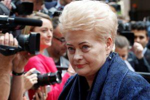"""""""Forbes"""" įtakingiausių moterų sąraše D. Grybauskaitei skirta 68-oji vieta"""