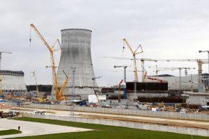 """Baltarusija: Astravo jėgainės pirmasis reaktorius bus """"fiziškai"""" įjungtas kovą"""