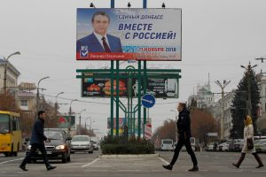 Lietuva pasmerkė rinkimus Donecke ir Luhanske