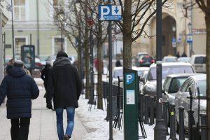 Už valandos stovėjimą sostinės senamiestyje gali tekti krapštyti 2,5 euro
