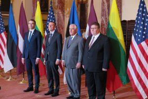 L. Linkevičius: sutariame su JAV dėl strateginių tikslų