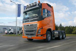 Galingiausias sunkvežimis Lietuvoje – Alytaus kelininkams