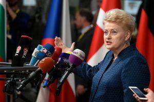 """D. Grybauskaitei """"Forbes"""" įtakingiausių moterų šimtuke –  rekordiškai aukšta vieta"""