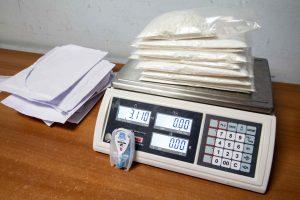 Pusantro kilogramo kokaino bute laikę jaunuoliai kalės dešimt metų