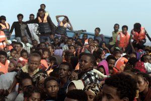 Migrantai iš Libijos Europos nepasiekė – užduso perpildytame laive