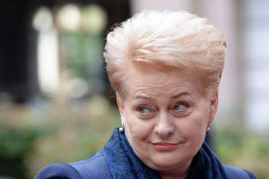 D. Grybauskaitė apie CETA: esame ne Valonijos, o biurokratijos įkaitai