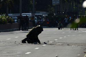 Filipinuose netoli JAV ambasados neutralizuota bomba