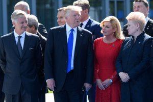 D. Grybauskaitė Varšuvoje susitiks su D.Trumpu