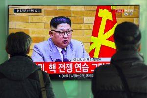 Šiaurės Korėjos lyderis paragino pradėti branduolinių ginklų masinę gamybą