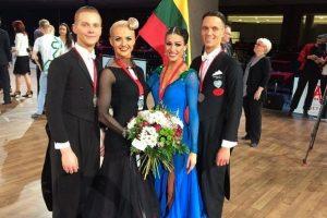Lietuvos šokėjams – Europos čempionato sidabras ir bronza