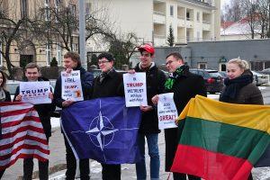 Seimo narys L. Kasčiūnas: ne visas pasaulis – prieš D. Trumpą