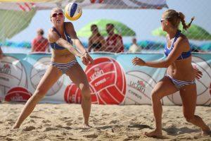 Ukrainoje sėkmė šypsojosi dviem Lietuvos paplūdimio tinklinio poroms