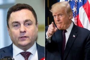 P. Gražulis susirūpino D. Trumpo neigiamu įvaizdžiu Lietuvoje