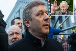 V. Landsbergis apie R. Karbauskį: jaunasis baronas turi kiaulės akis