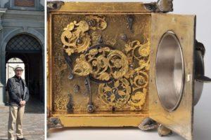 Išeivijos lietuvis Valdovų rūmams padovanojo unikalų laikrodį