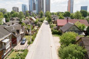 Atgimsta Šnipiškės: bus rekonstruojama Giedraičių gatvė